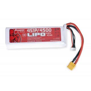 POWER PACK Li-Pol 4500mAh/14,8V 70C s XT60 konektorem