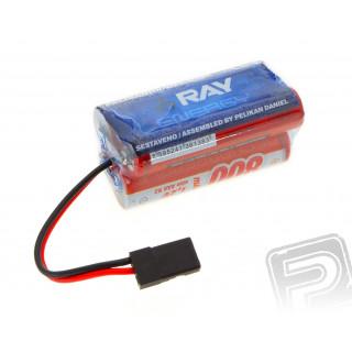 4.8V 800 AAA RAY Long RX 4čl. přijímačový (kostka)