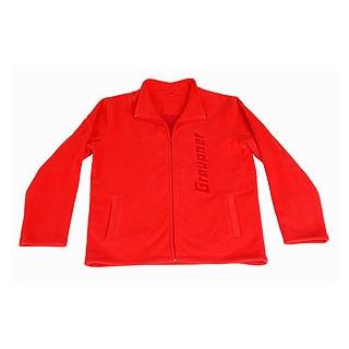 Fleece bunda GRAUPNER červená S