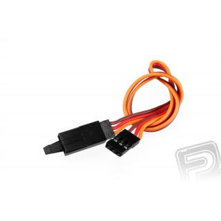 JR012 prodlužovací kabel 300mm JR s pojistkou (PVC)