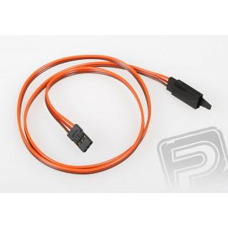 JR014 prodlužovací kabel 600mm JR s pojistkou (PVC)