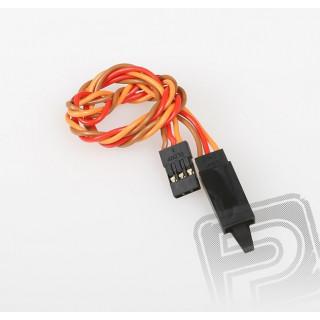 JR020 prodlužovací kabel kroucený 300mm JR s pojistkou (PVC)