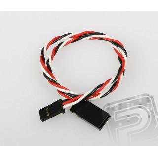 FU020 prodlužovací kabel kroucený 300mm Futaba (PVC)
