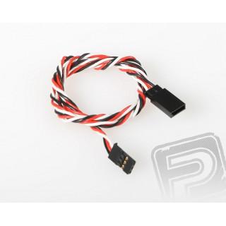 FU022 prodlužovací kabel kroucený 600mm Futaba (PVC)