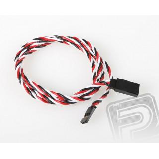 FU024 prodlužovací kabel kroucený 900mm Futaba (PVC)
