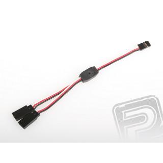 FU040 V-kabel krátký Futaba 150mm (PVC)