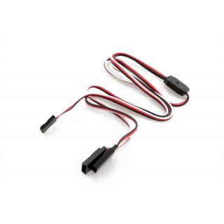FU042 V-kabel dlouhý Futaba 300mm (PVC)