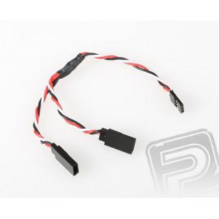 FU240 V-kabel kroucený 150mm Futaba (PVC)