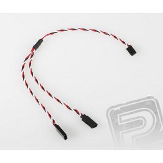 FU242 V-kabel kroucený 300 Futaba (PVC)
