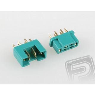 7925/50 MPX konektor zelený 50 párů