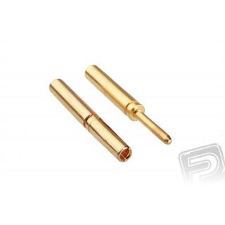7938/10 G0.8mm pružinový konektor zlatý 10 párů
