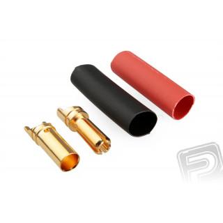 79411/100 G3.5mm pružinový konektor zlatý 100 párů