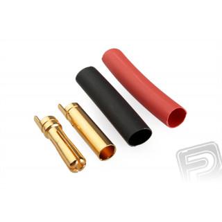7947/10 G4.0mm pružinový konek.zlatý 10 párů