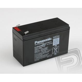 Pb akumulátor Panasonic 12V 7,2Ah