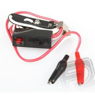 384 žhavící kolíček s LED