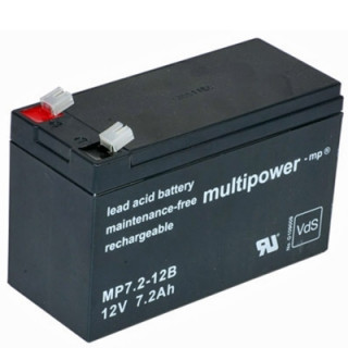 Pb akumulátor MULTIPOWER 12V/7,2Ah