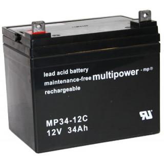 Pb akumulátor MULTIPOWER 12V/34,0Ah
