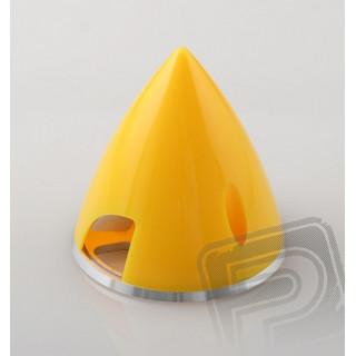 PROFI kužel 57mm ŽLUTÁ dural-plast