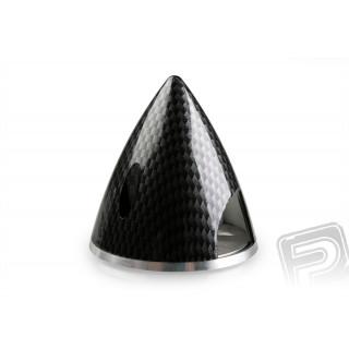 Profi kužel 45mm černý (imitace carbon)