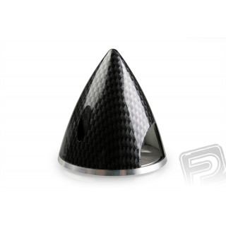 Profi kužel 51mm černý (imitace carbon)