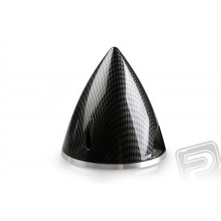 Profi kužel 75mm černý (imitace carbon)