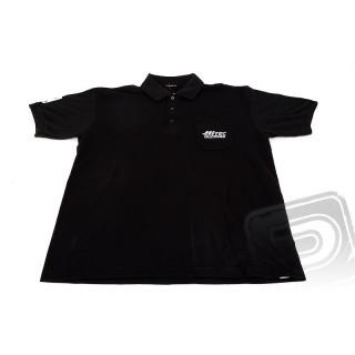Polo tričko Hitec černé XXL