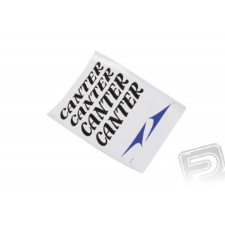 ND samolepky Canter