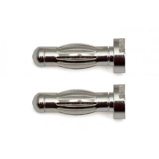 Reedy Low Profile G4 stříbrný konektor, 2 ks.