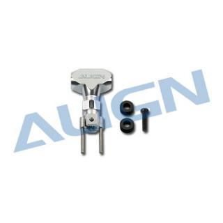 Kovová rotorová hlava/stříbrná pro T-REX 250 / 250SE