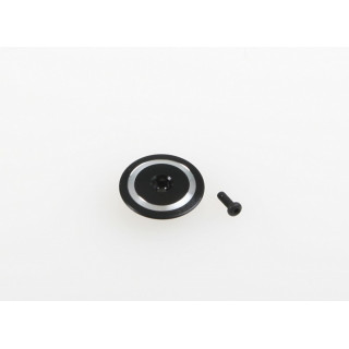 Kovový brzdící talířek rotorové hlavy/černý pro T-REX 250 / 250 SE
