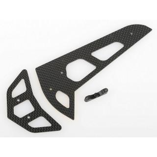 Uhlíkové ocasní plochy 1.6mm (Náhrada za AH50031T)