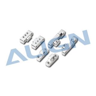 Kovové držáky podvozku pro T REX 550E