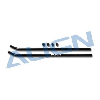 Přistávací lyžiny černé pro T REX 550E