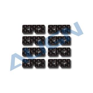 Uhlíková servo deska pro T-REX 600