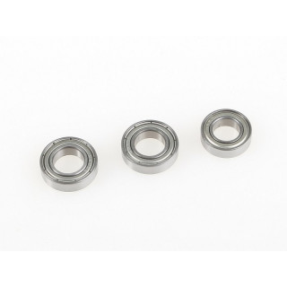 Kuličkové ložisko 2x 10x19x5mm a 1x 9x17x5mm (6800ZZ/689ZZ)
