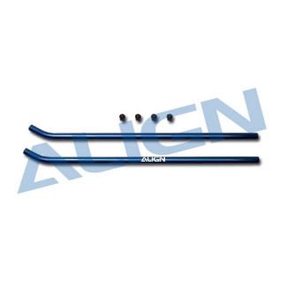 Lyžiny podvozku, modré pro T-REX 600