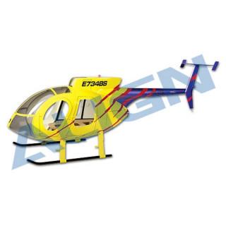 ALIGN - maketový trup Hughes 500E - T-REX 600