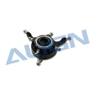 Kovová CCPM deska cykliky/černá pro T-REX 700