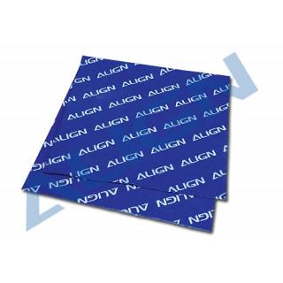 Align - pracovní podložka, modrá