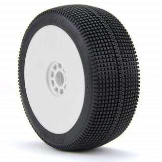 ZIPPS (Super Soft) nalepené na EVO diskách (bílé)