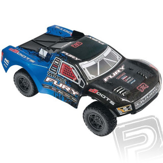 Fury Mega 2WD RTR (modro-černá)