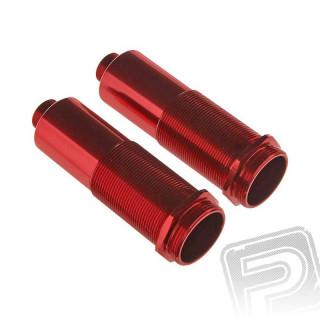 Tělo tlumiče 16x63mm kov - červené Kraton (2 ks.)