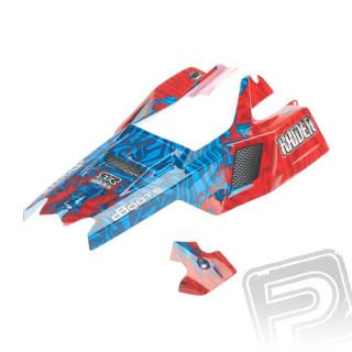 Lakovaná karoserie Raider Mega červeno/modrá 2016