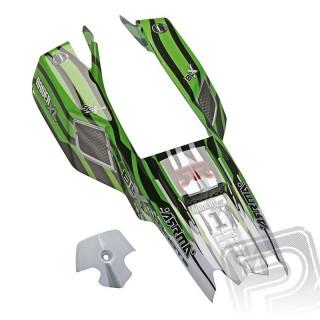 Lakovaná karoserie, zelená, Raider XL 2016