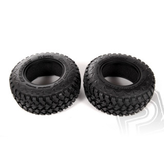 2.2/3.0 Hankook Mud Terrain gumy 41mm, R 35 směs ( 2ks.)