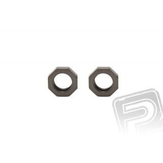 Axial tvrzený hliníkový límec (2 ks.)