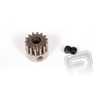 Ocelový motorový pastorek, modul 32DP, 14 zubů