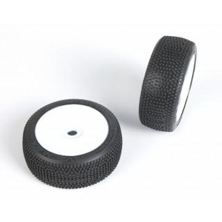 V-MAX (medium směs) Off-Road 1:8 Buggy gumy nalep. na bílých disk. (2ks.)