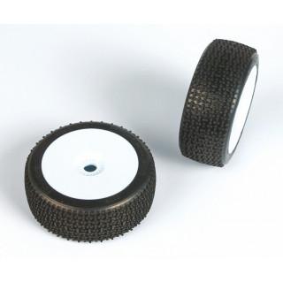 ENFORCER (super soft směs) Off-Road 1:8 Buggy gumy nalep. na bílých disk. (2ks.)