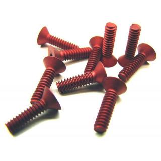 4/40 x 7-16 FH Alu-červené (10 ks.)
